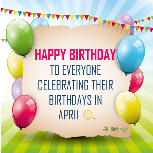 Super Rosebank College On Twitter Happy Birthday To All The April Personalised Birthday Cards Bromeletsinfo