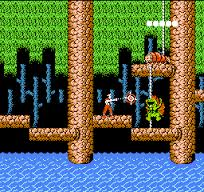 【アルゴスの戦士 はちゃめちゃ大進撃/テクモ(1987年)】「ディスカーマー」と呼ばれる独特な軌道で動くヨーヨー型の武器を振り回し、様々なパワーアップアイテム及び隠しボーナスが用意された、アクションゲーム。
