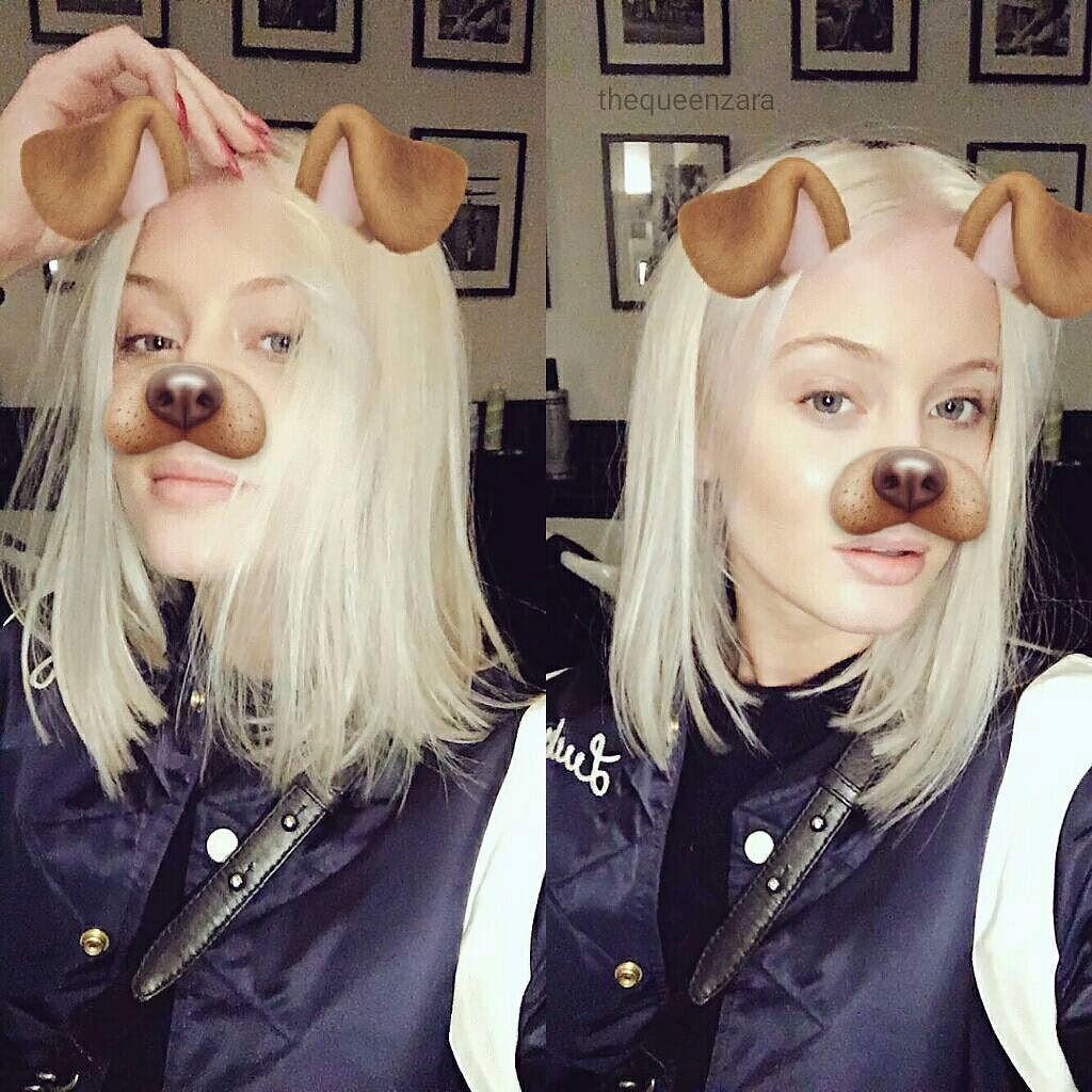 Zara Larsson Snapchat