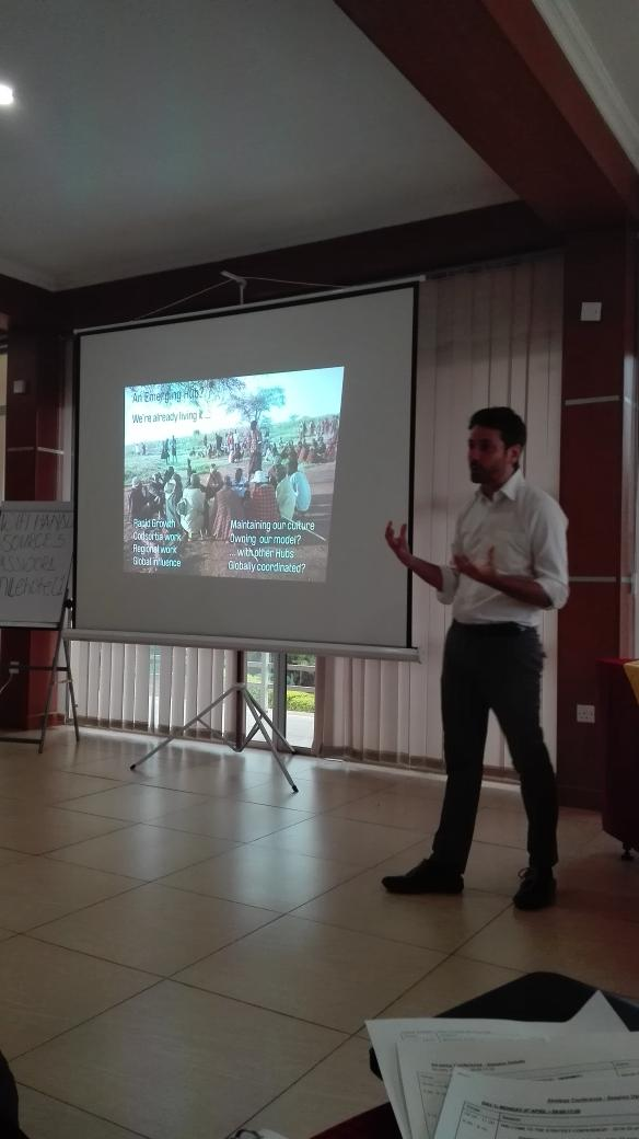 Wonderful country director from Uganda Greg with an introduction to Uganda programme. #WeAreRestless https://t.co/A4sOj7EjPT