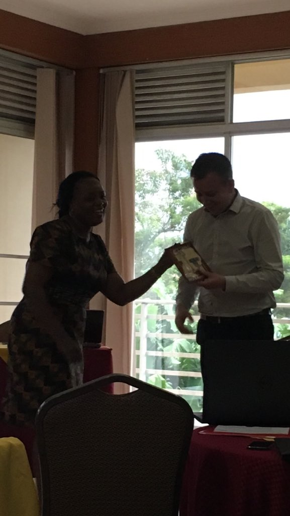 And the prize goes to @MarkNowottny - smashes the Uganda quiz! #WeAreRestless https://t.co/jzqnBpQgpc