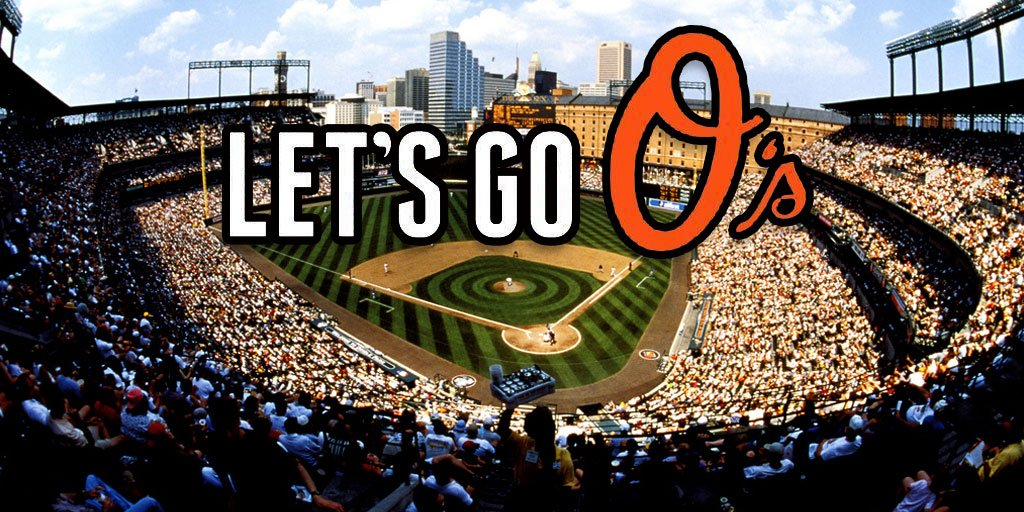 It's #OpeningDay good luck @Orioles https://t.co/kd4vzy718o