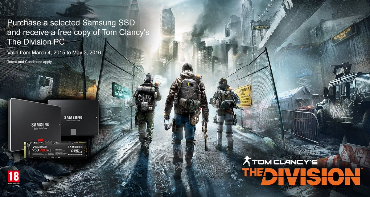 Competition Time... RT and Follow @UbisoftUK for a chance to WIN a 500GB @SamsungUK SSD and a Gold Edition PC code! https://t.co/vFjkrUffgT