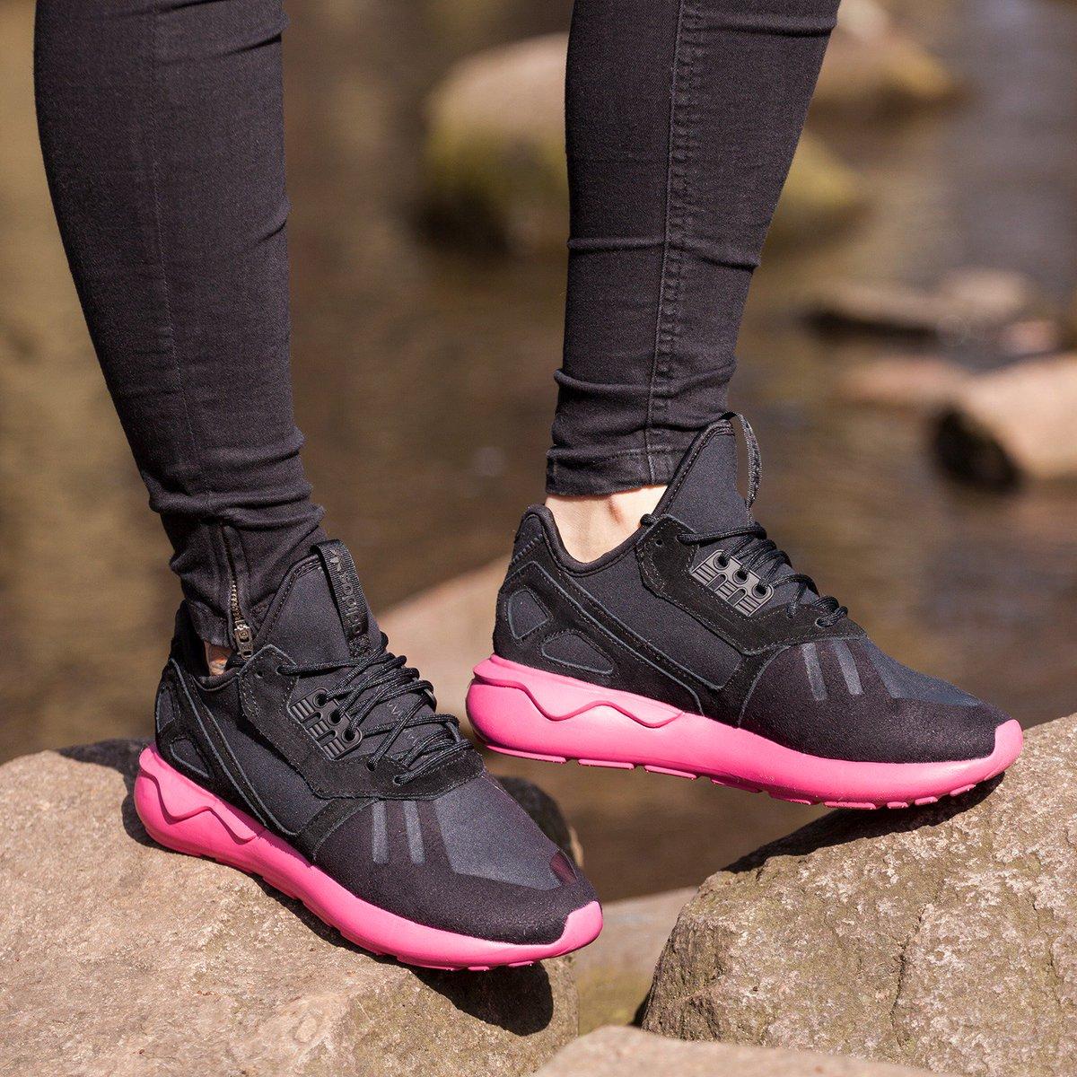 adidas tubular runner damskie czerwone