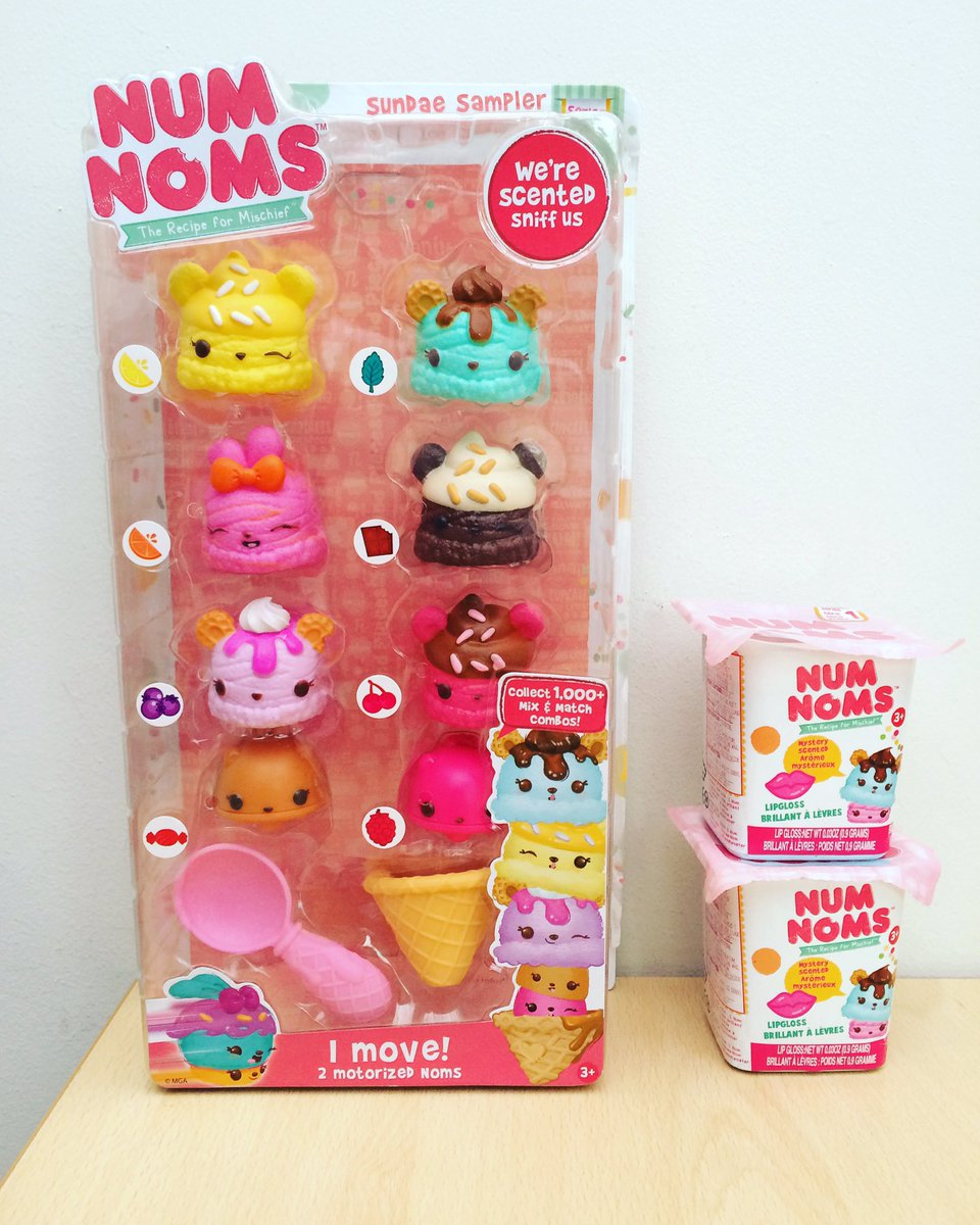 There's a brand new giveaway on the blog today to win some adorable #NumNoms https://t.co/UcTNbZiCdz https://t.co/nJQt9dPoZX