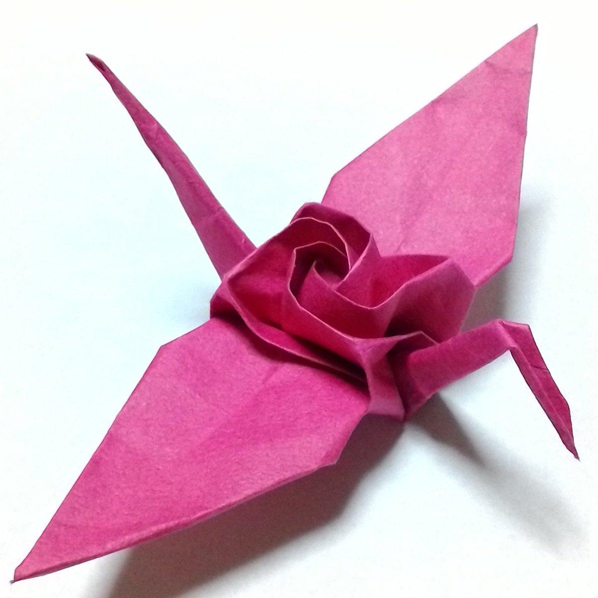 クリスマス 折り紙 折り紙 つる : twitter.com
