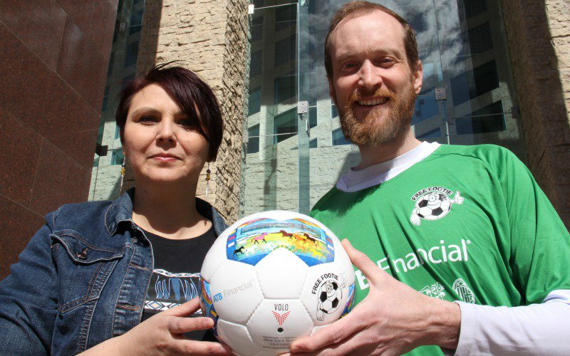 Free Footie program creates Treaty Six soccer ball to honour city's past. https://t.co/UzRoy5i3zA #yeg https://t.co/wDPBL0cSKL