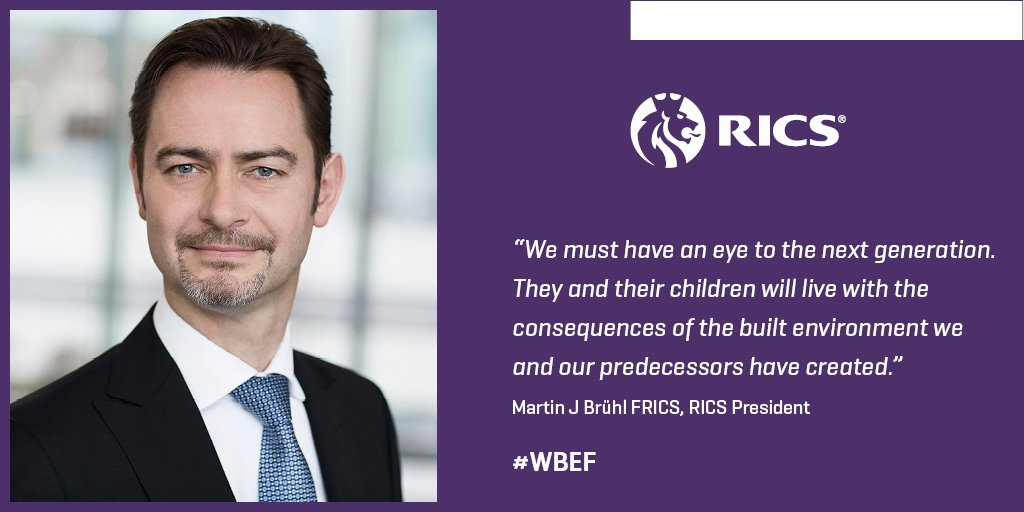 Our inaugural World Built Environment Forum is underway w/ words from @MartinJBruehl: https://t.co/r18nVs3e4K #WBEF https://t.co/SL1zBiKBkg
