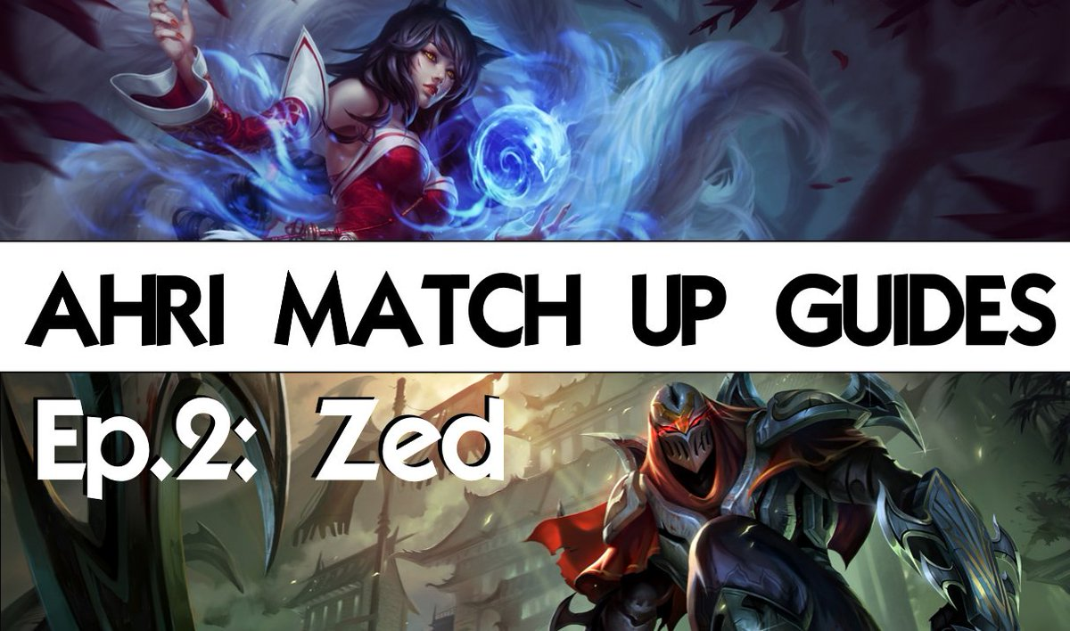 "Verti on Twitter: ""AHRI vs ZED GUIDE IS UP! Thanks @Azohwastaken for the  help! https://t.co/wuYXfGCcq5 https://t.co/vTUP6nzA1G"""