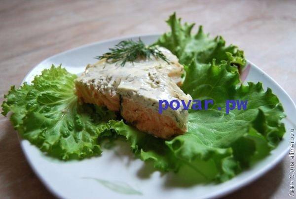Семга запеченная в духовке в фольге рецепт с фото