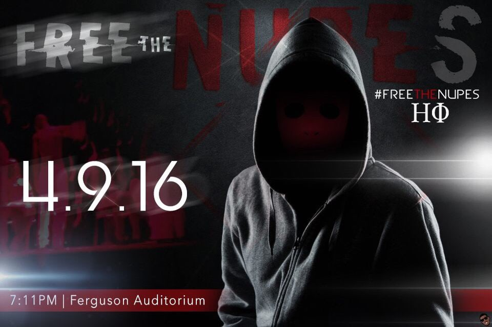 #FreeTheNupes #BeThere 19:11 start time. https://t.co/ASpJbRWPHR