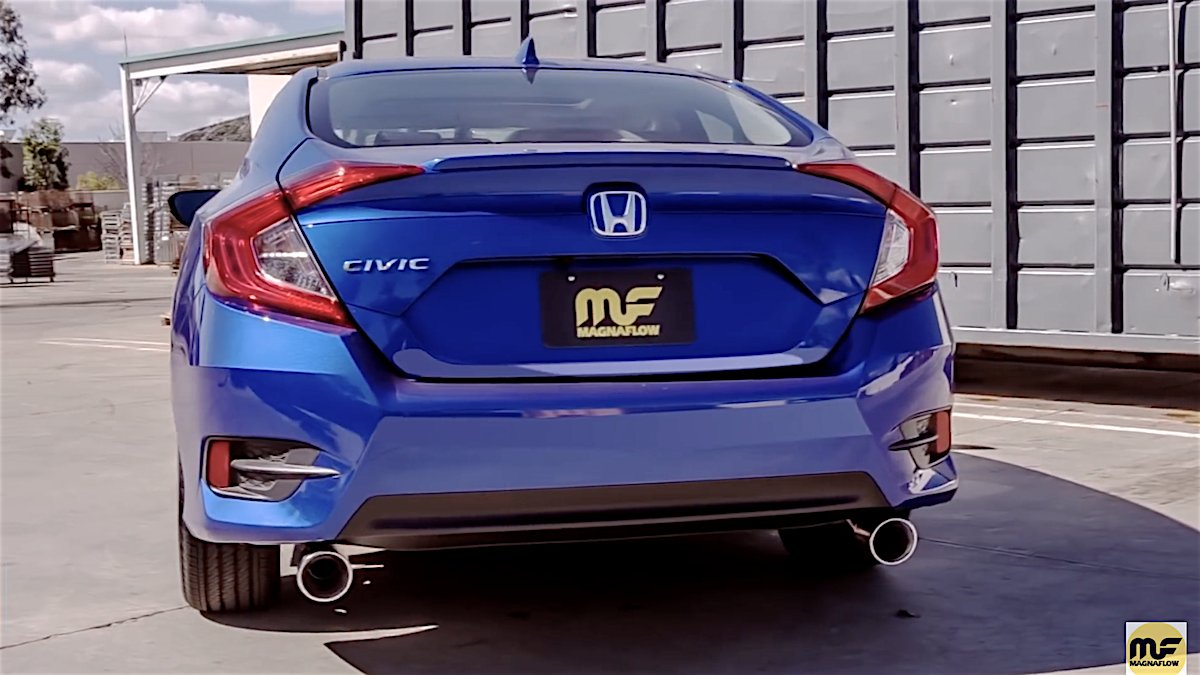 Civicx On Twitter New 2016 Honda Civic 15l Cat Back Exhaust From Magnaflow Adds Sound Performance Stcobkolakm4ai: 2016 Civic Dual Exhaust At Woreks.co