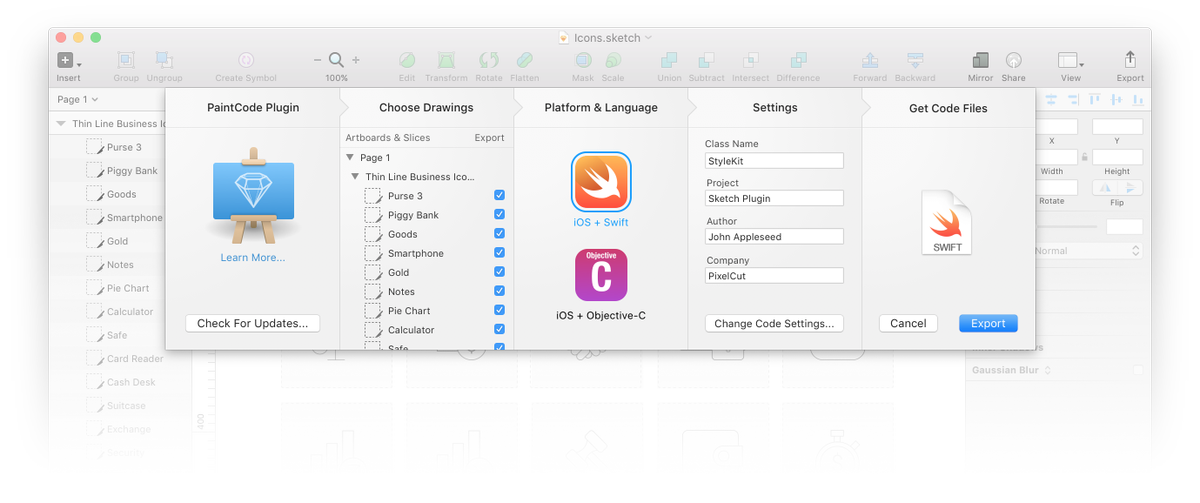 Sketch On Twitter Convert Your Sketch Designs Into Swift Or Objective C With The Paintcode Plugin For Sketch Https T Co Urft6mxtgp Https T Co Mzopg8fkim