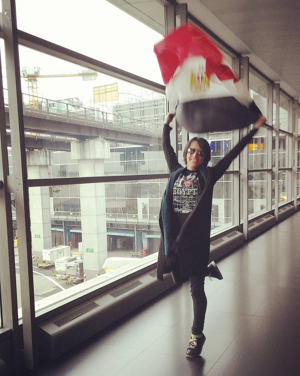 Angela Bermudez  - Good bye Egy twitter @AngelaBermudezA egypt,flag,bye,airport,trip