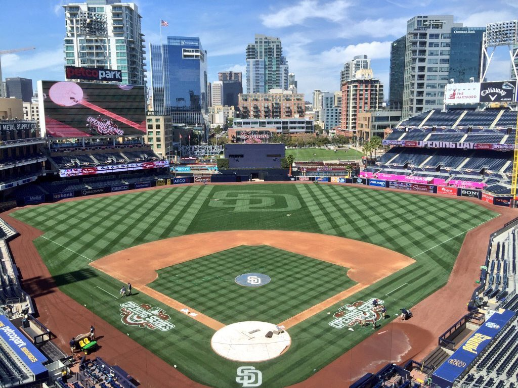 @Padres opening day is finally here! #beatla https://t.co/Zlc1gahT7s