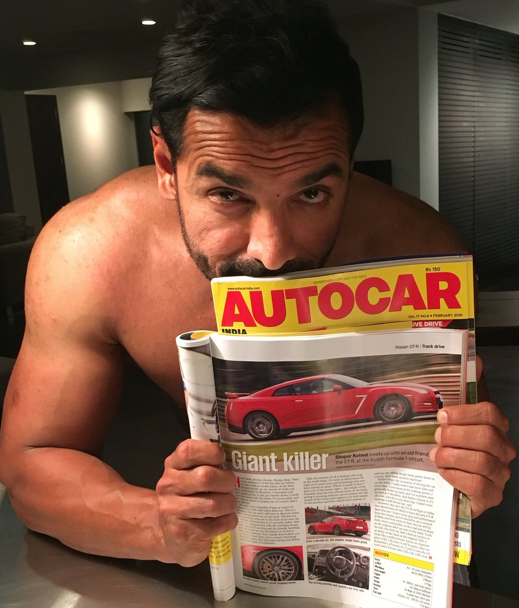 "John Abraham on Twitter: ""Reading about the GTR before I sleep in ..."