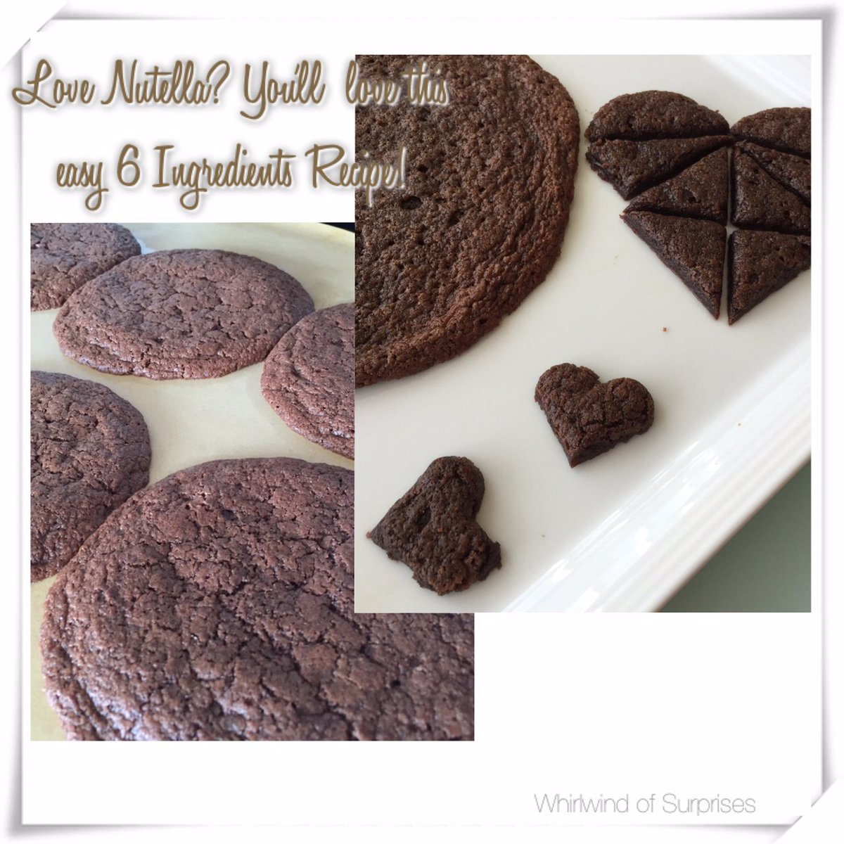 Easy Nutella Cookie recipes
