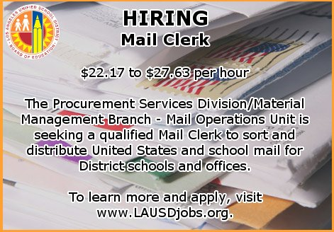lausd mail