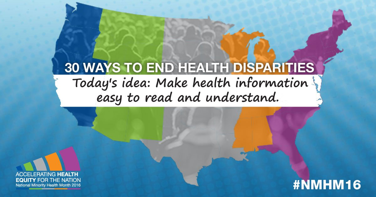 Make health information easy to read and understand