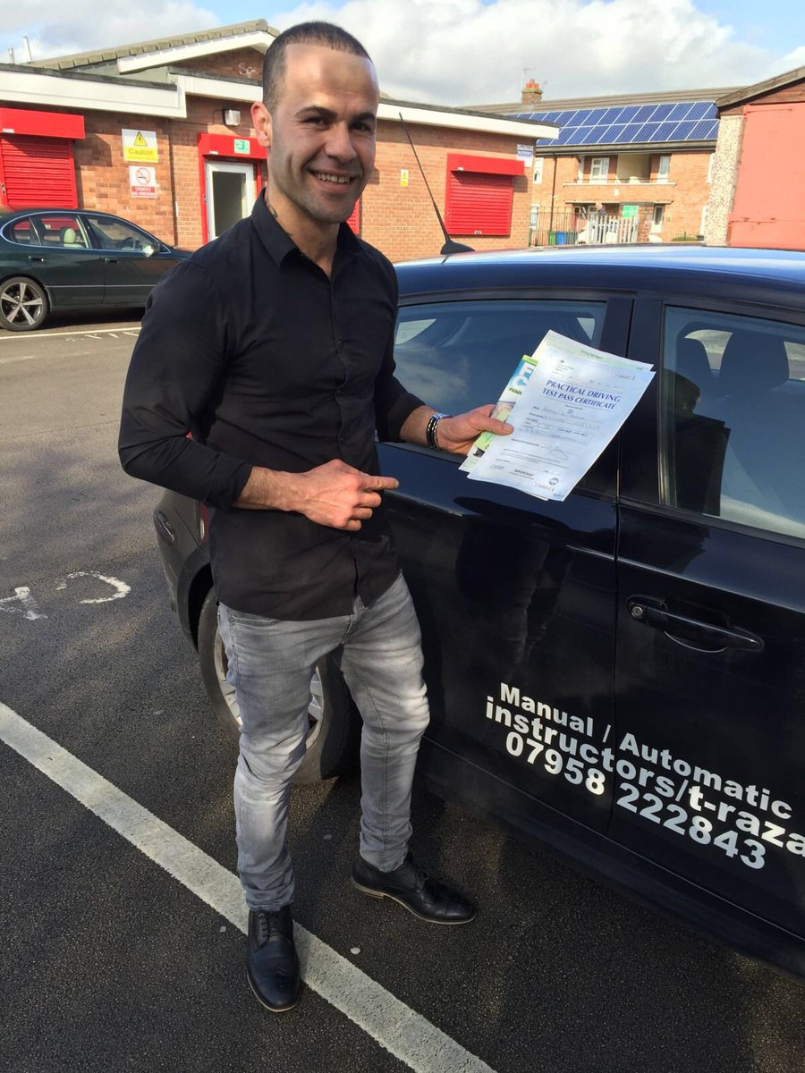 Congratulations to Rebway passed first time with 4 minors #warringtondrivingtestcentre #automaticdrivinglesson.com
