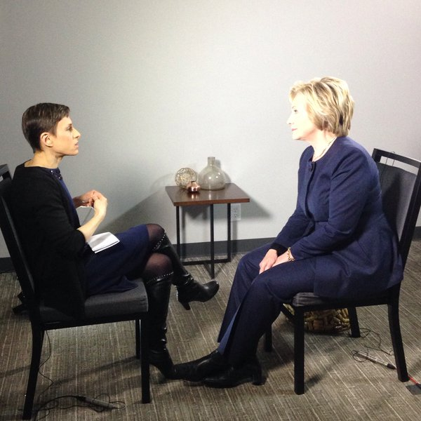 Join us at 8: @HillaryClinton sits down with @CTLizB for an exclusive one-on-one interview to talk #NYPrimary https://t.co/wcIV6IyzmS