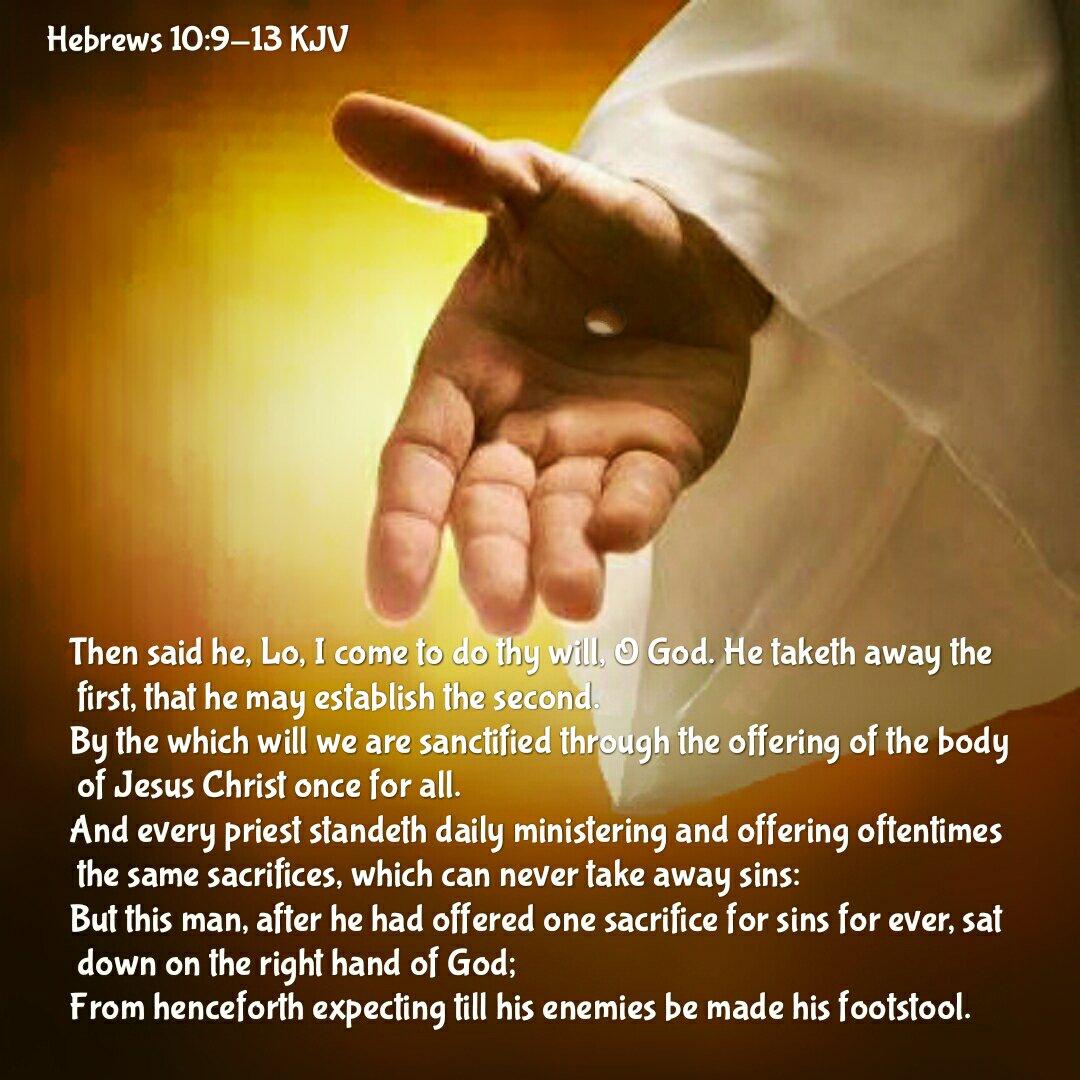 Image result for Hebrews 10:13