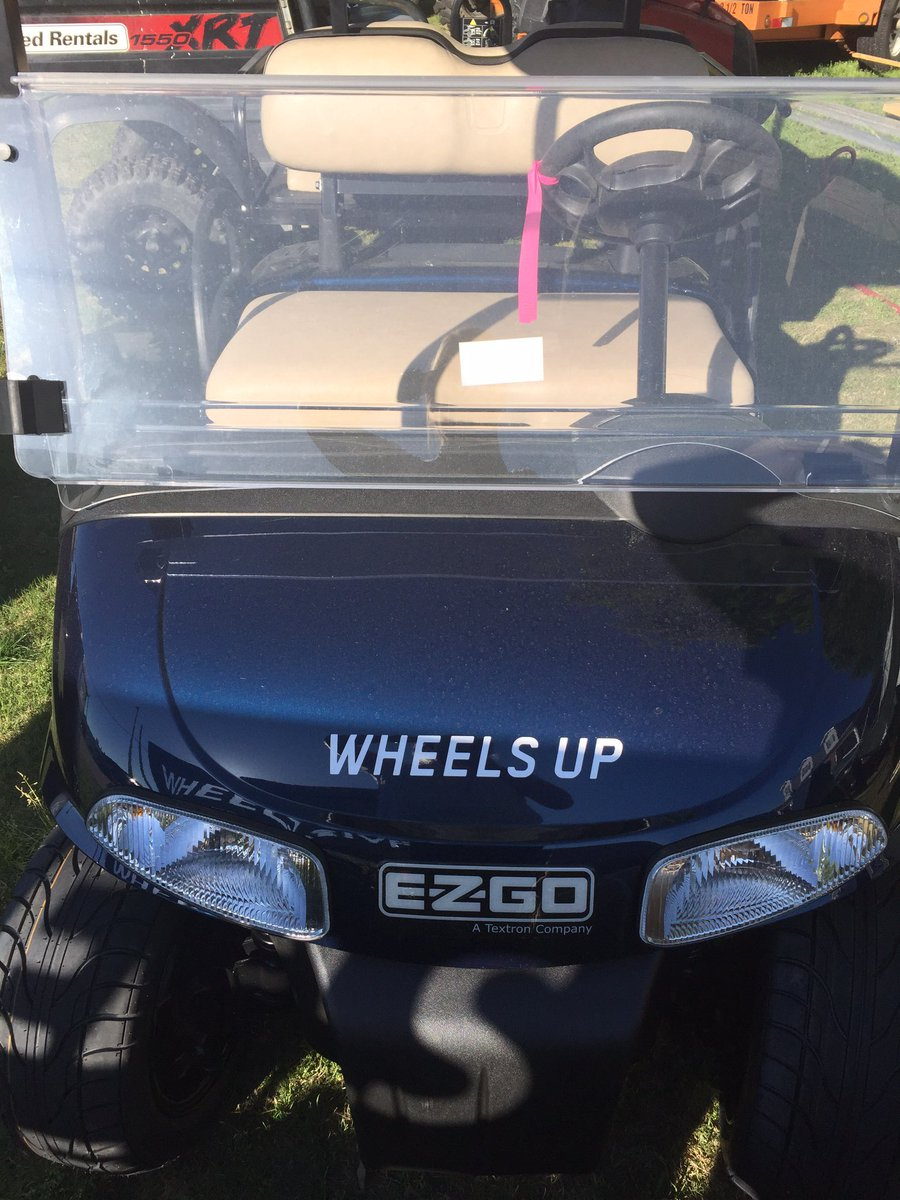 #WheelsUp has you covered in the air and on the ground at #TheMasters! #WheelsUpPuttsDown