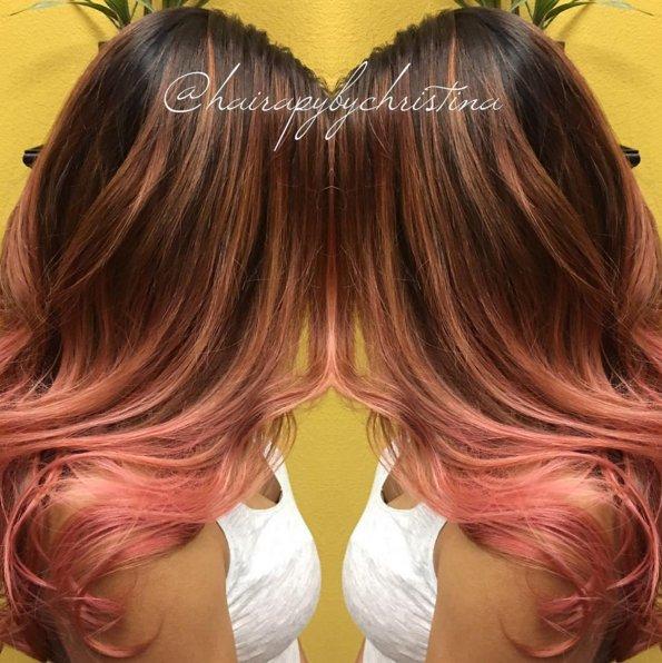 Kenra Professional On Twitter Chrstina In Corpus Christi Used Kenracolor 6n 6b Base 8c 6rr Demi Level 9 10 Hair