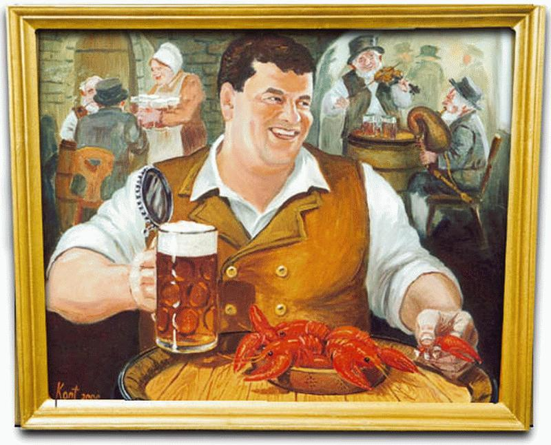 Картинки про пиво мультяшные прикольные, прошедшим юбилеем