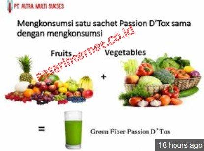 Green Fiber passion detox