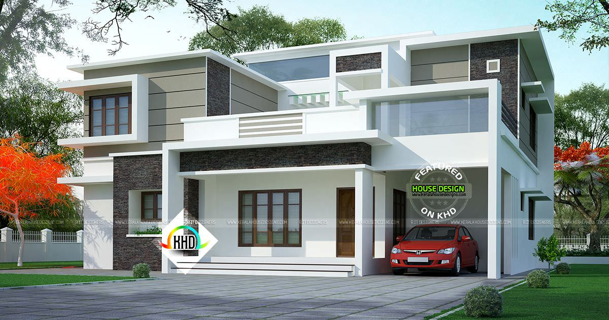 Kerala Home on Twitter Box type modern home httpstco