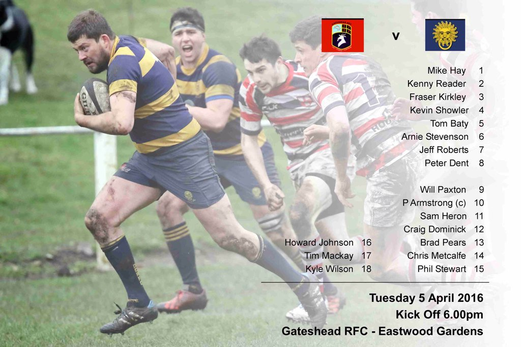 Durham City Rfc On Twitter Best Of Luck To Our 1st Xv Playing A