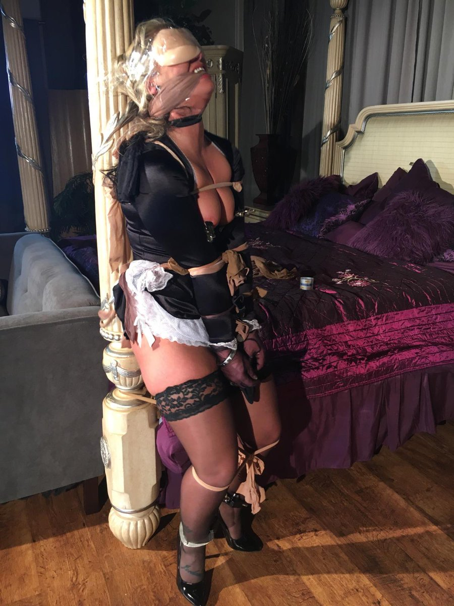 Julie simone bondage and bondage ball gag