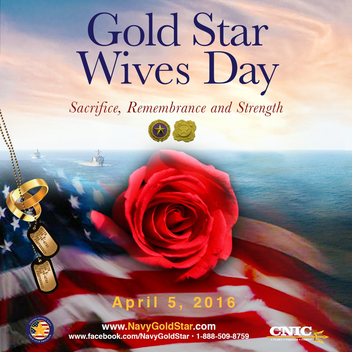 Today we recognize and honor the sacrifice and strength of our Gold Star Spouses. https://t.co/dQzwDLSMvw