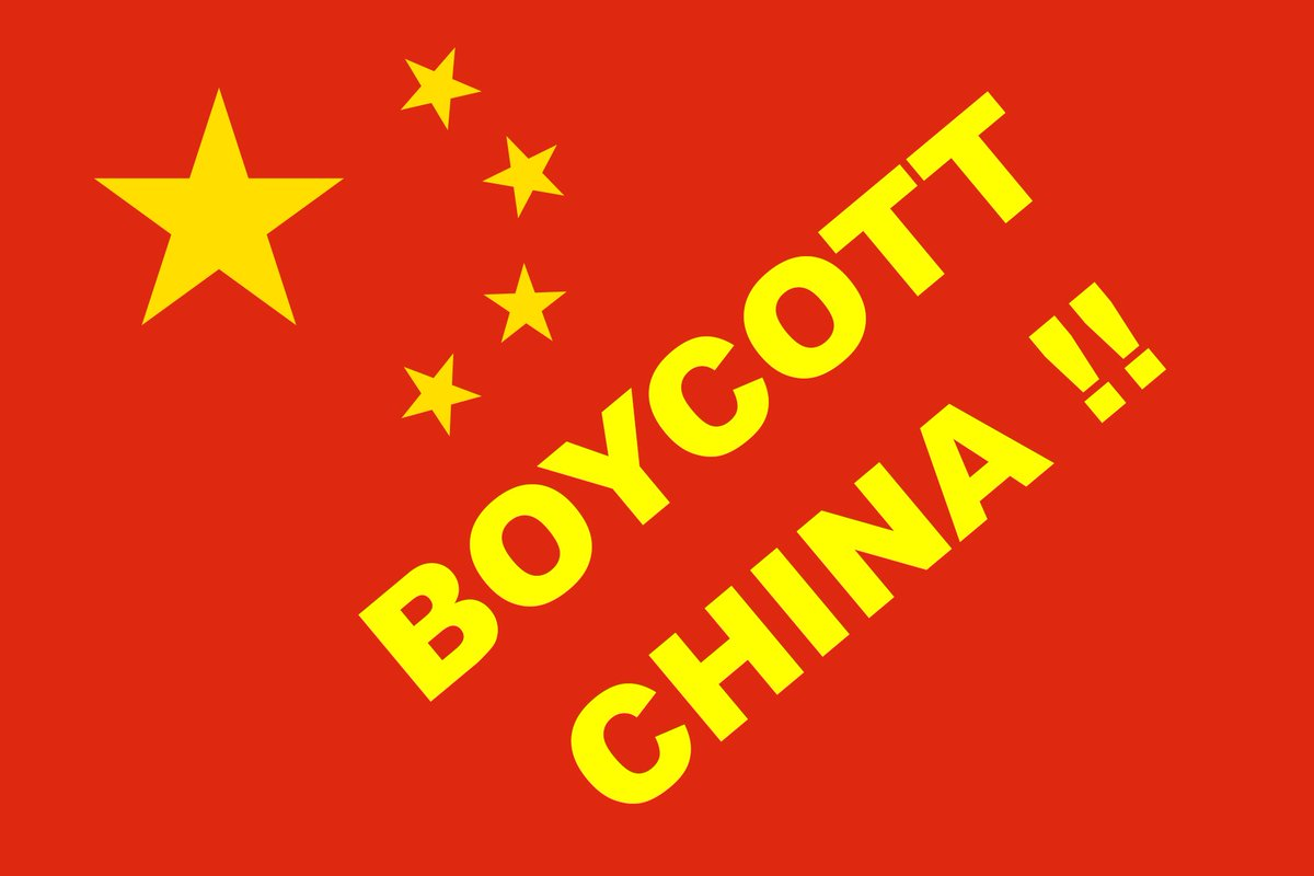 Image result for boycott china