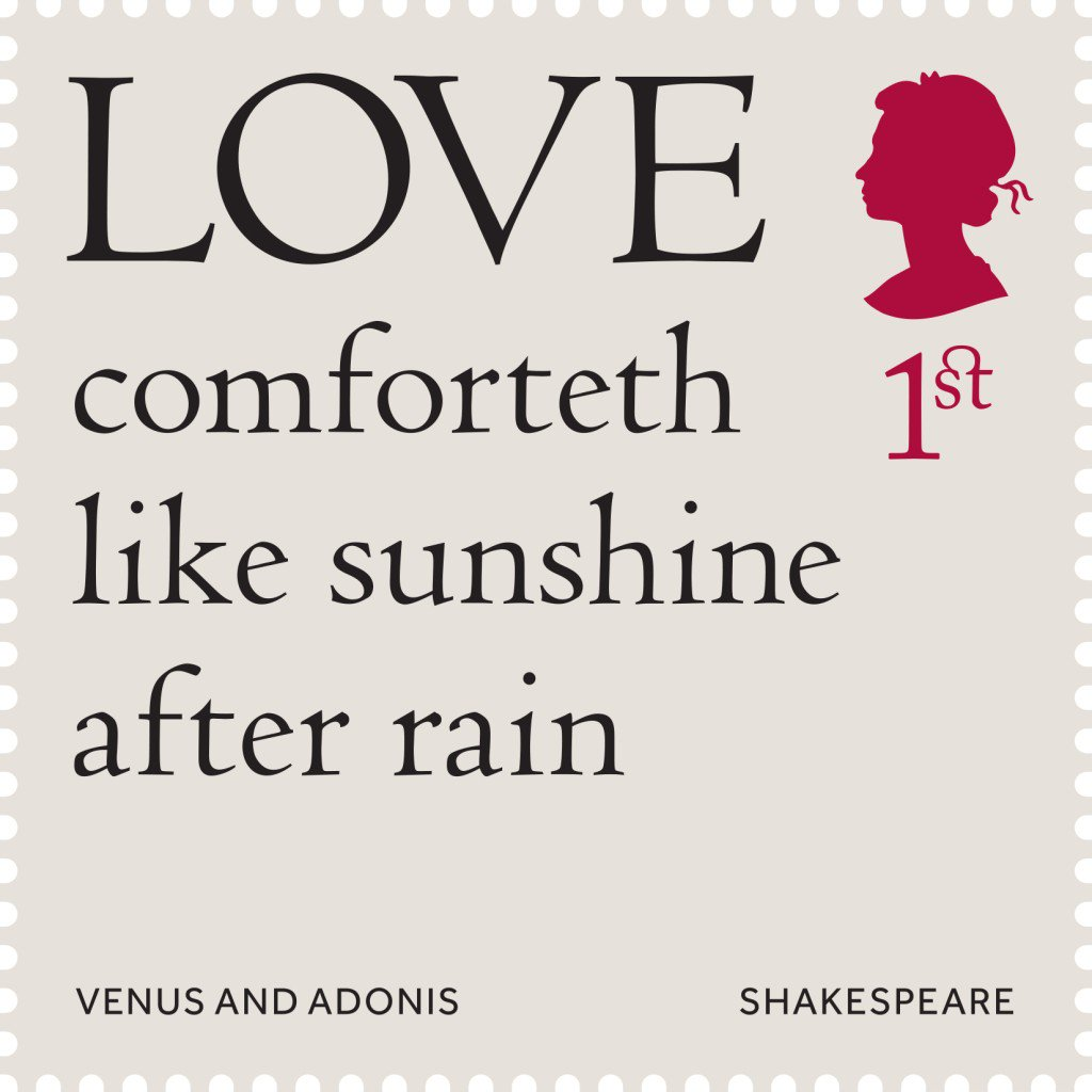 Post Office On Twitter Shakespeare Quote Meaning Love Feels As