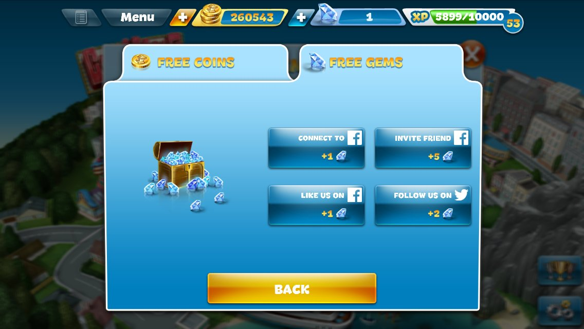 how to get free diamonds on cooking fever
