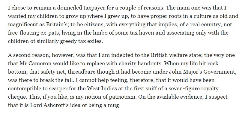 Timely - RT @samatlounge Reminder of JK Rowling's take on paying tax. https://t.co/UDfZpVH50R