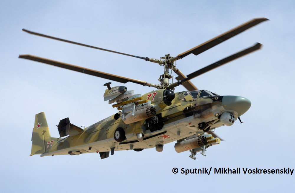 المروحيه الروسيه Ka-52  CfRxC80XIAAUlUU