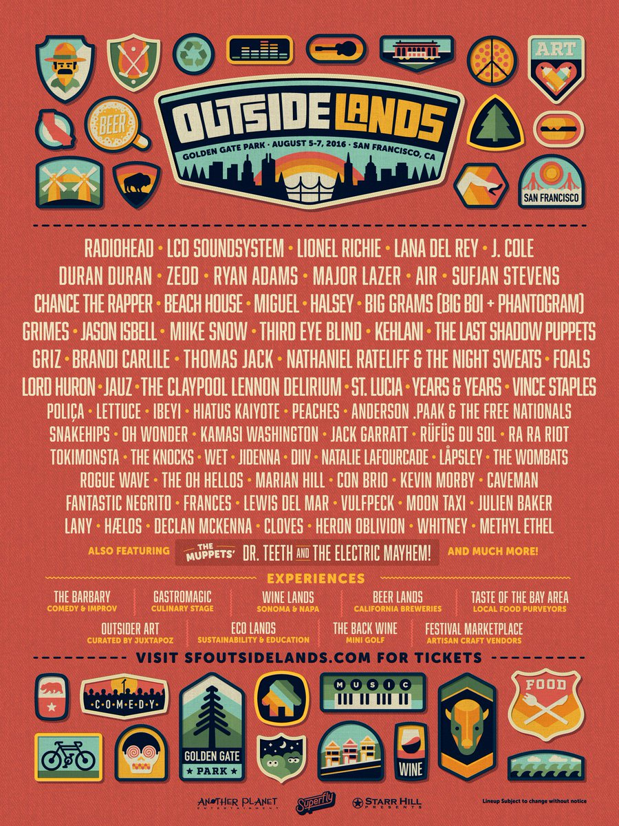 ranger dave delivered the goods. rt for a chance to win a pair of vip tickets: https://t.co/hXFBR0EigW #outsidelands https://t.co/9gA8ZluyMD