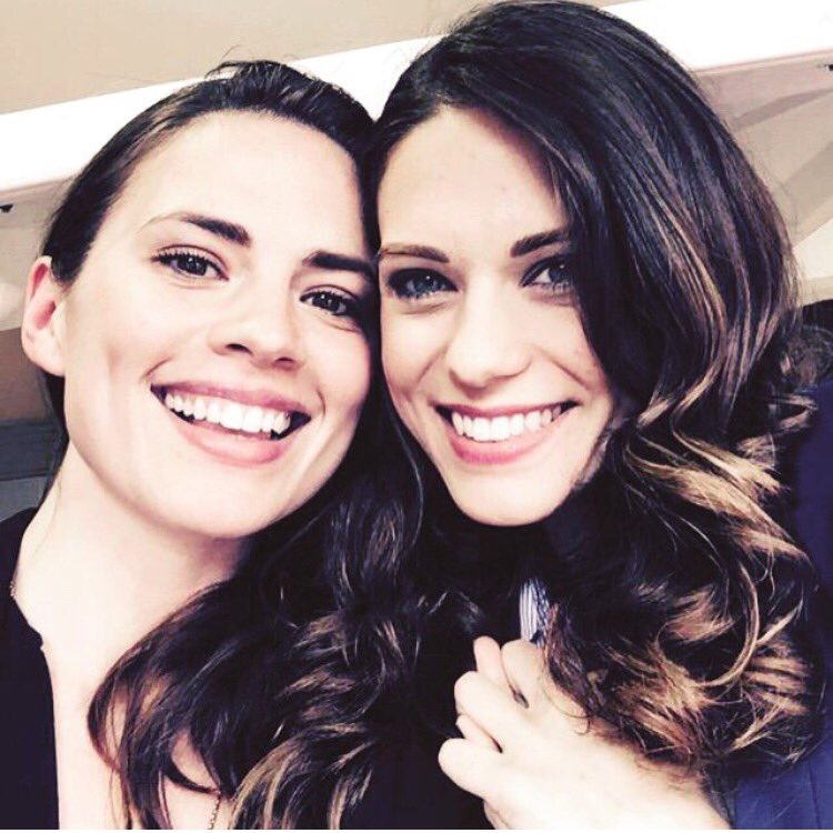 Wishing a Happy Birthday to my beautiful friend Hayley Atwell!
