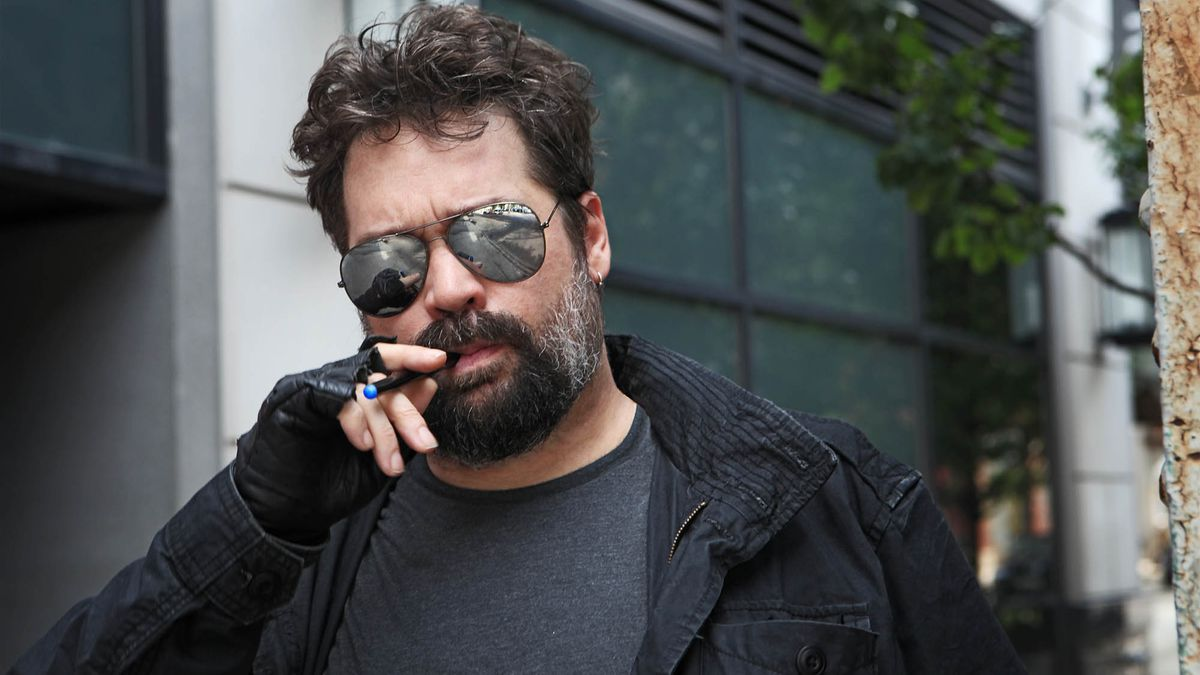 Man Smoking E-Cigarette Must Be Futuristic Bounty Hunter http://onion.com/1RLlf0P