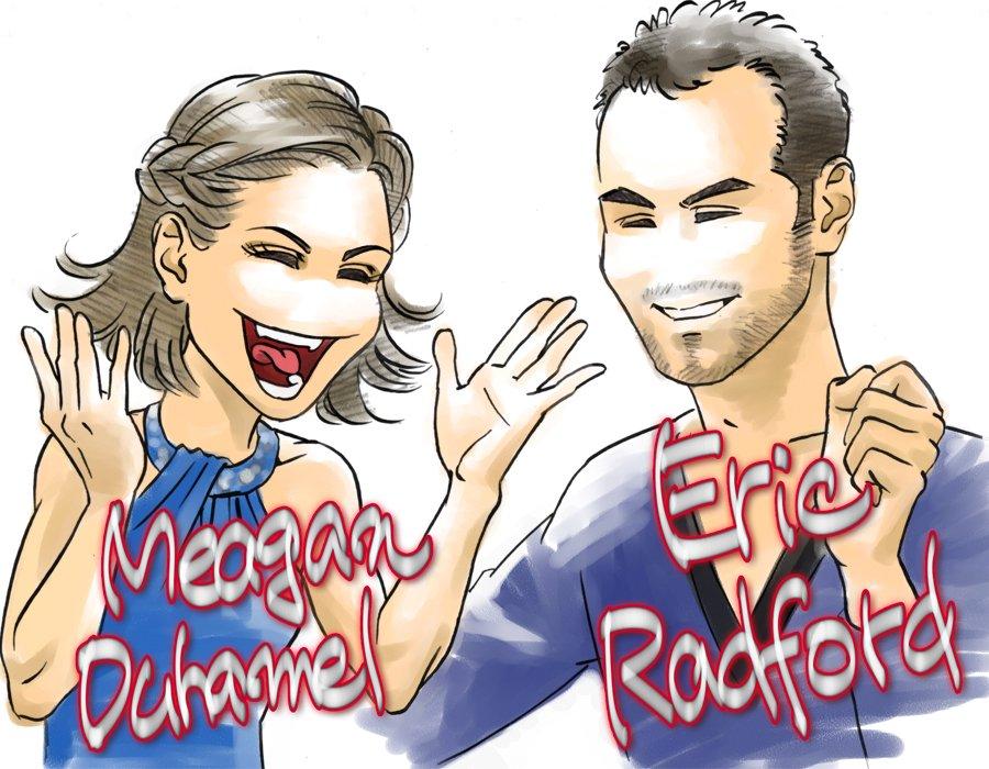 Меган Дюамель - Эрик Рэдфорд / Meagan DUHAMEL - Eric REDFORD CAN - Страница 5 CfSFq7DUUAAqTFk