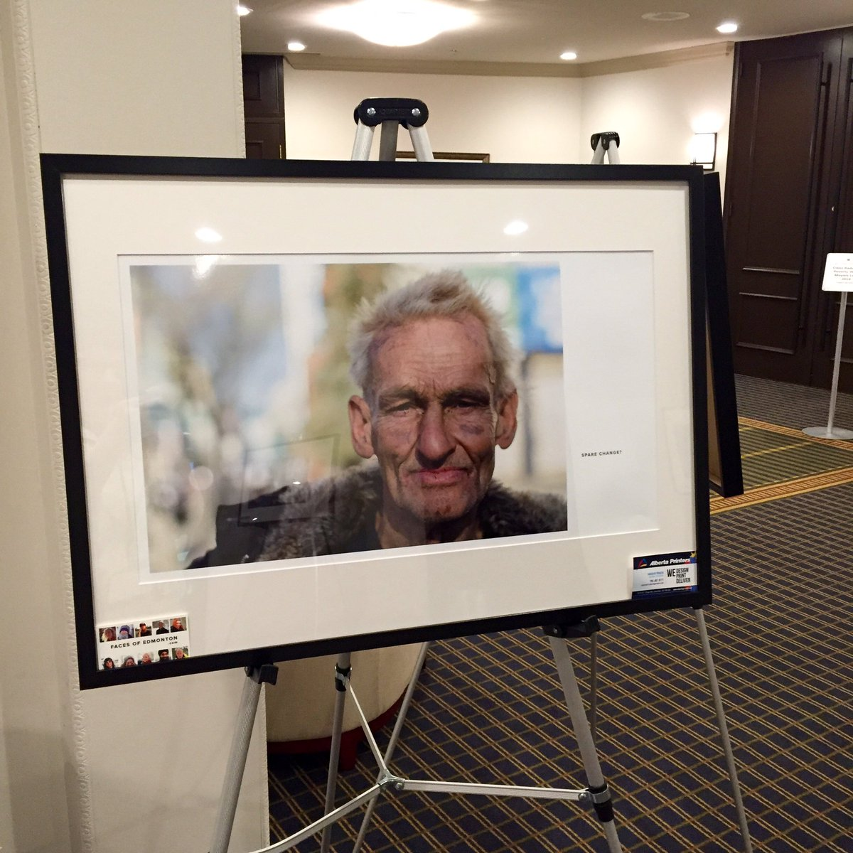 Faces of Edmonton at the #MayorsPovertySummit @Tamarack_Inst @VC_Canada @VibrantCalgary https://t.co/oXU6GyNR0w