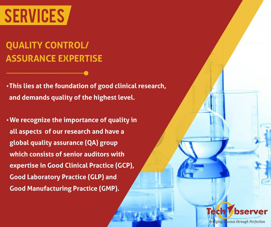 test Twitter Media - Quality Assurance (QA) lies at the foundation of good clinical research. #cro #clinicaltrials #techobserver https://t.co/ehw5VYPfnm