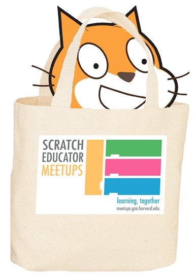 The cat's out of the (swag) bag! The first #ScratchEdMeetup is coming to #NOLA on April 16. https://t.co/mwYol53HvX https://t.co/f8ZHEF87yk