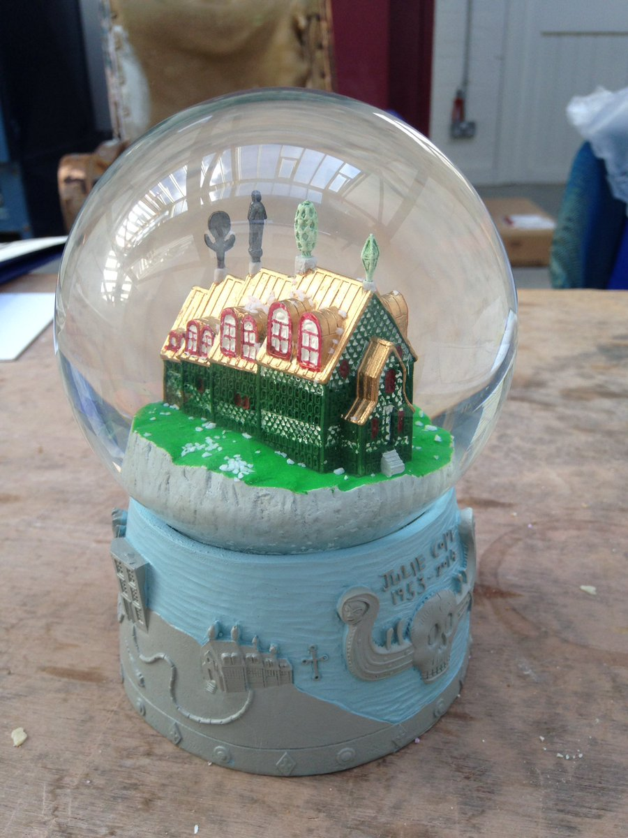 Image result for HOUSE FOR ESSEX SNOW GLOBE