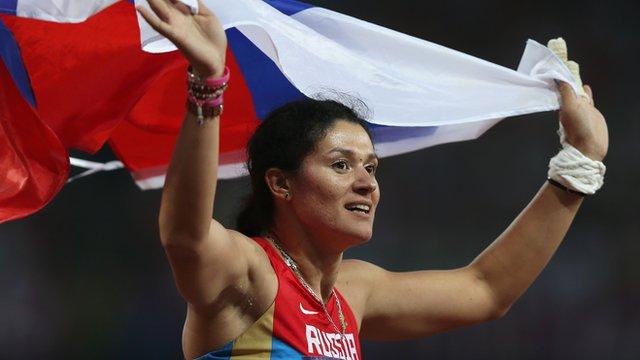 Athlétisme > La championne olympique russe du marteau Tatyana Lysenko suspendue pour dopage (IAAF)