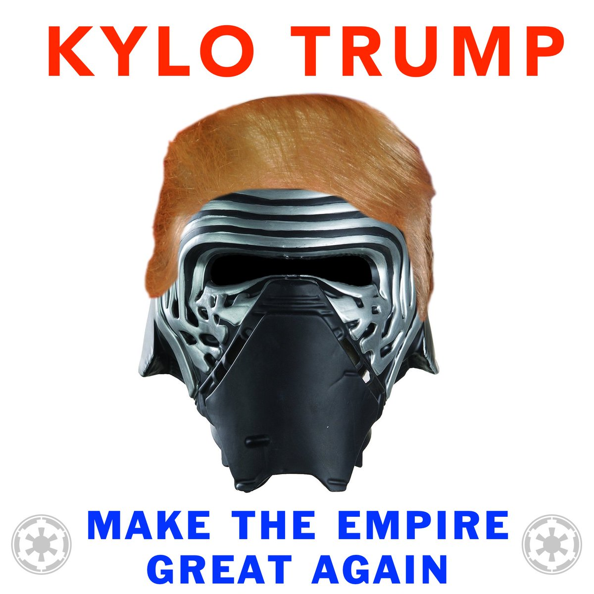 New podcast day! It's called Kylo Trump - Donald Trump's words read in Kylo Ren's voice. https://t.co/caKkA8ok1I https://t.co/1C6hsSl4jd