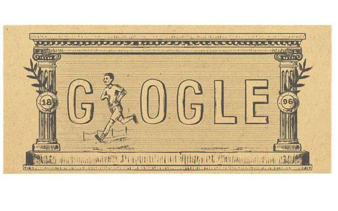 Primi Giochi Olimpici dell'Era Moderna Doodel Google 6 Aprile 2016